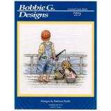 Bobbie G. Designs Stickvorlage Fishing