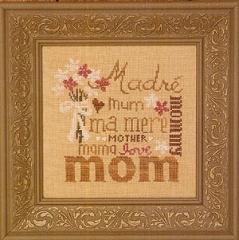 Bent Creek Stickvorlage Love You Mom