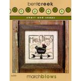 Bent Creek Stickvorlage March Blows