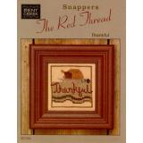 Stickvorlage Bent Creek Red Thread Snappers Thankful