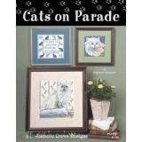 Jeanette Crews Designs Stickvorlage Cats On Parade