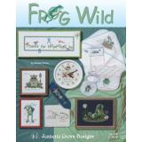 Jeanette Crews Designs Stickvorlage Frog Wild