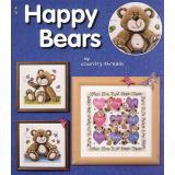 Jeanette Crews Designs Stickvorlage Happy Bears