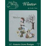 Jeanette Crews Designs Stickvorlage Winter