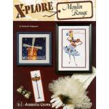 Jeanette Crews Designs Stickvorlage X-Plore Moulin Rouge