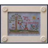 Country Cottage Needleworks Stickvorlage You Are My Sunshine