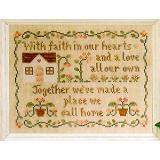 Stickvorlage Country Cottage Needleworks A Place We Call Home