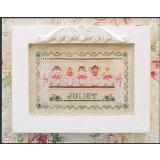 Country Cottage Needleworks Stickvorlage Little Ballerinas