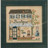 Country Cottage Needleworks Stickvorlage La Boutique