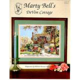 Pegasus Designs Stickvorlage Devon Cottage Marty Bell