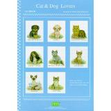 Pinn Stitch Stickvorlage Cat & Dog Lovers