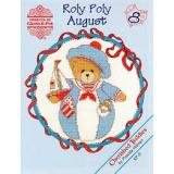 Kreuzstichvorlage Designs by Gloria & Pat - Roly Polys August (Cherished Teddies)