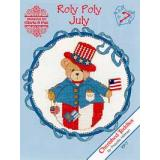 Designs by Gloria & Pat Stickvorlage Cherished Teddies Roly Polys July