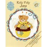 Kreuzstichvorlage Designs by Gloria & Pat - Roly Polys June (Cherished Teddies)