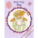 Designs by Gloria & Pat Stickvorlage Cherished Teddies Roly Polys May