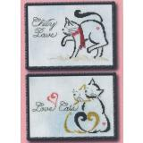 January/ February Monthly Brittie Kitties - Stickvorlage Brittercup Designs