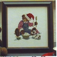 Stickpackung Oehlenschläger Kreuzstich 30210 - Weihnachtsteddy