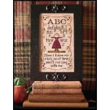Kreuzstichvorlage Little House Needleworks - Alphabet Rhyme