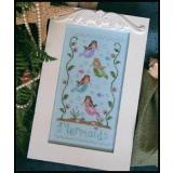 Country Cottage Needleworks Stickvorlage Mermaids