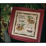 Stickvorlage Country Cottage Needleworks A Pirates Life