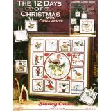 12 Days Of Christmas With Ornaments - Stickvorlage Stoney Creek