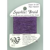Rainbow Gallery Sparkle! Braid Dark purple