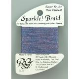 Sparkle! Braid - Blue Violet - Rainbow Gallery