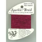 Rainbow Gallery Sparkle! Braid Dark Fuchsia