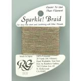 Rainbow Gallery Sparkle! Braid Mos Green