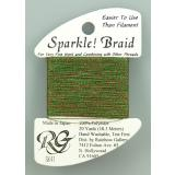 Rainbow Gallery Sparkle! Braid Christmas