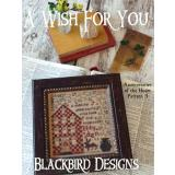 Kreuzstichvorlage Blackbird Designs - A Wish For You
