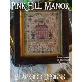 Blackbird Designs Stickvorlage Pink Hill Manor