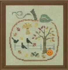 Stickvorlage Bent Creek Pumpkin Full Of Autumn Fun