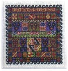 Anden-Muster - Stickpackung Der feine Faden