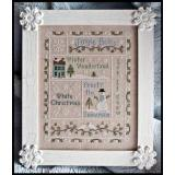 Kreuzstichvorlage Country Cottage Needleworks - Snowflake Serenade
