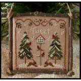 2011 Ornament 1-Cardinal Winter - Little House Needleworks