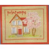 Maison de printemps - Stickpackung Princesse