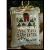 2011 Ornament 6-Pine Tree Inn - Little House Needleworks