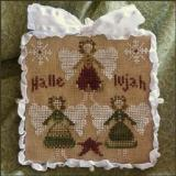 2011 Ornament 8-Hallelujah - Little House Needleworks