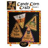 Sue Hillis Stickvorlage Candy Corn Crazy 1