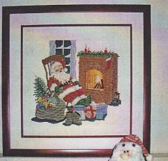 Weihnachtsmann - Stickpackung Oehlenschläger