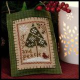 2011 Ornament 9-Joy & Peace - Little House Needleworks