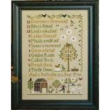 Little House Needleworks Stickvorlage 12 Days Of Christmas