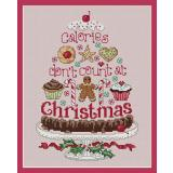 Sue Hillis Stickvorlage Christmas Calories