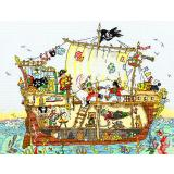 Bothy Threads Stickpackung Pirate Ship