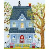 Kreuzstichpackung Bothy Threads - New England Homes - Spring