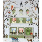 Kreuzstichpackung Bothy Threads - New England Homes - Winter