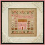 Country Cottage Needleworks Stickvorlage Cottage Of The Month February