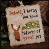 2011 Ornament 12-Good Tidings - Little House Needleworks