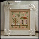Country Cottage Needleworks Stickvorlage Cottage Of The Month March